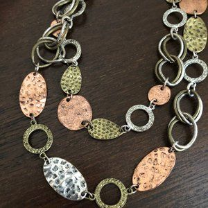 Ruby Rd. Jewelry - Ruby Rd Mixed Metal Necklace
